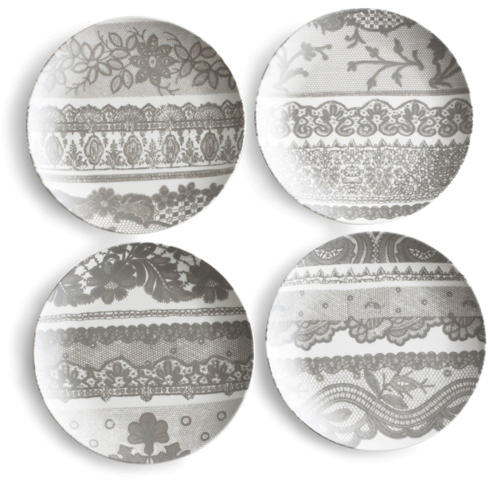 Lace Plates Found In A Thrift Store The Shuttlesmith